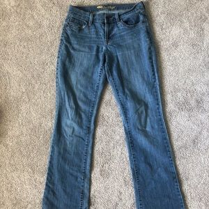 Old Navy Size 4 Low Rise Straight Leg Jeans
